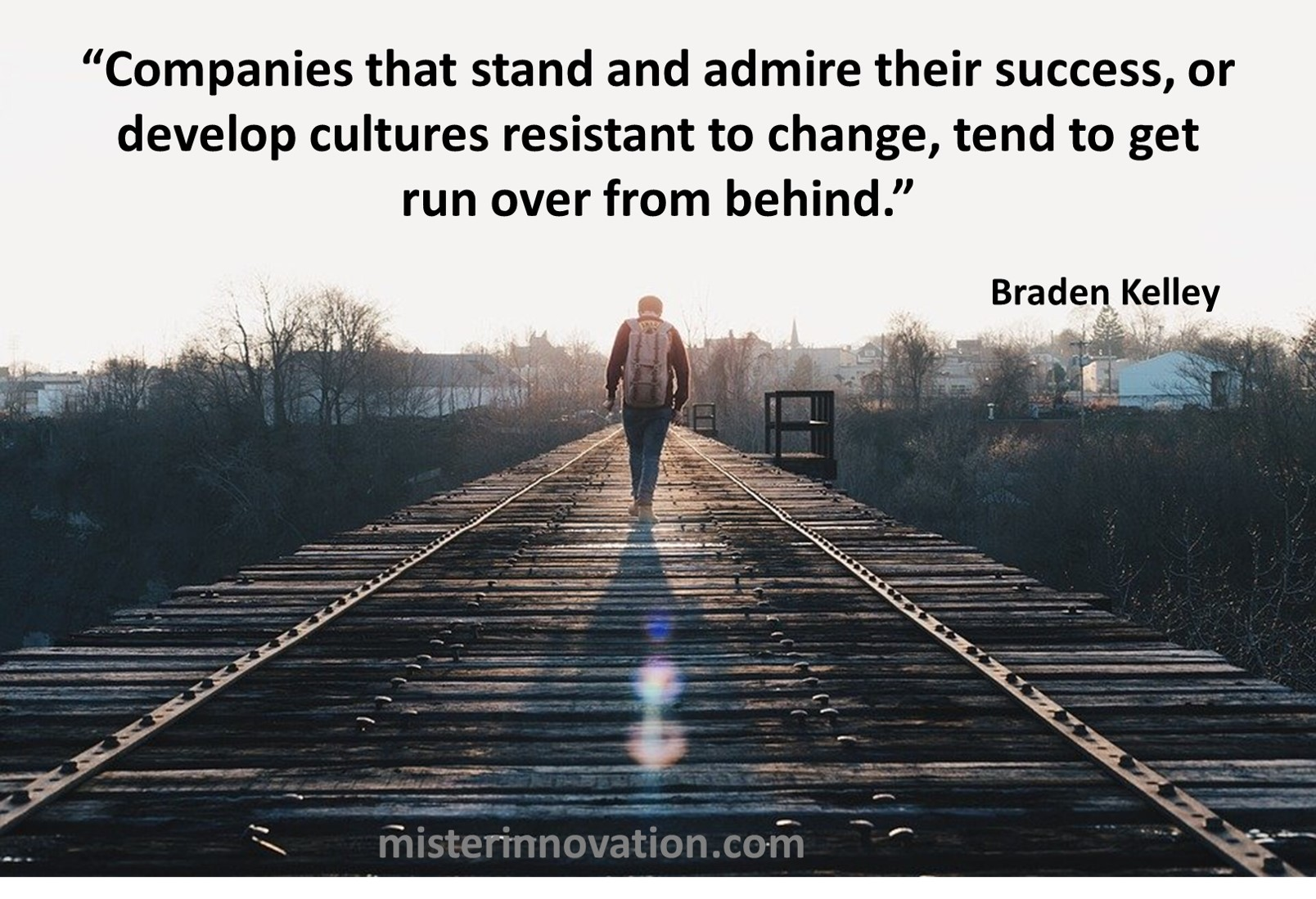 Success and Change Kill Quote from Braden Kelley