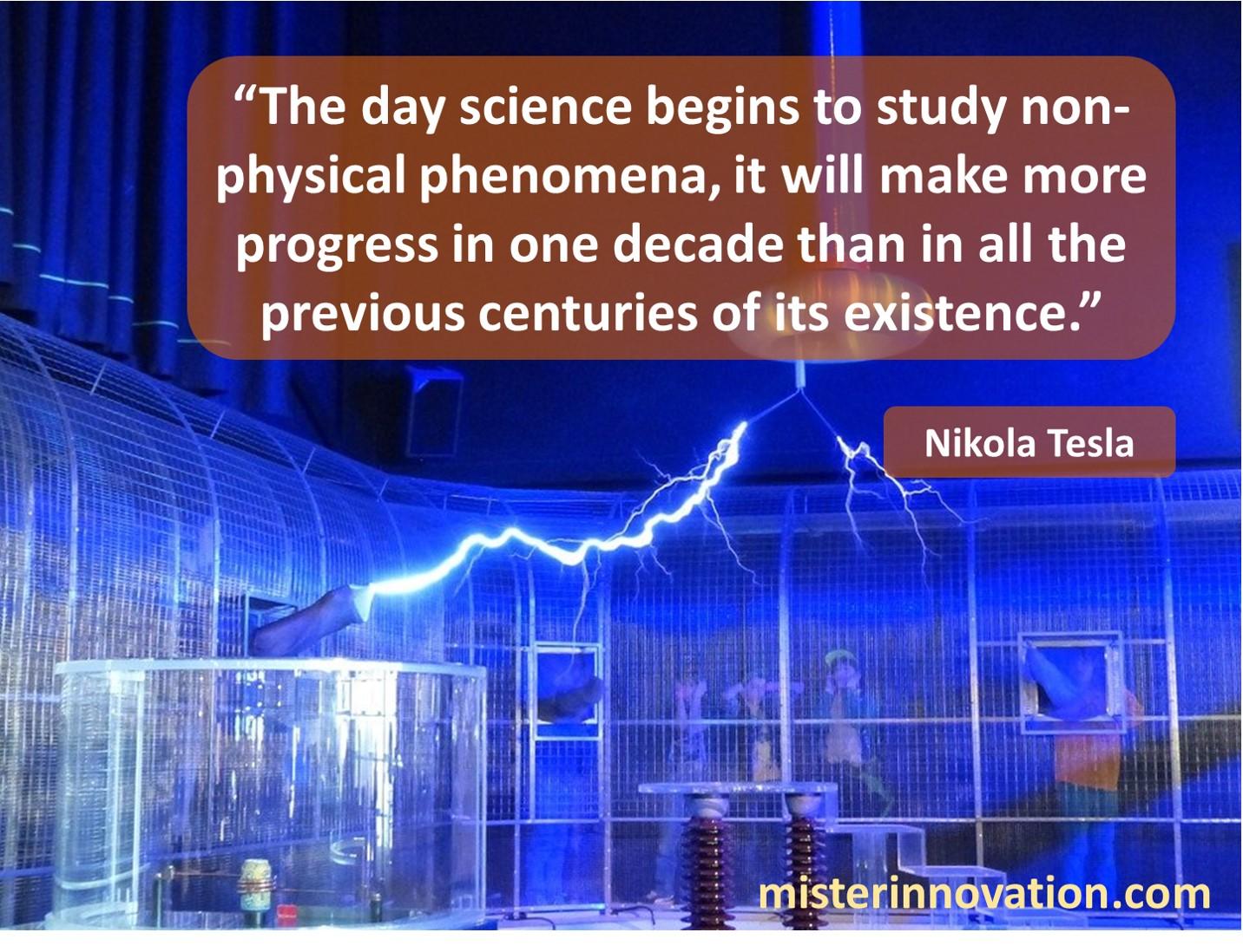 Tesla Non Physical Phenomena