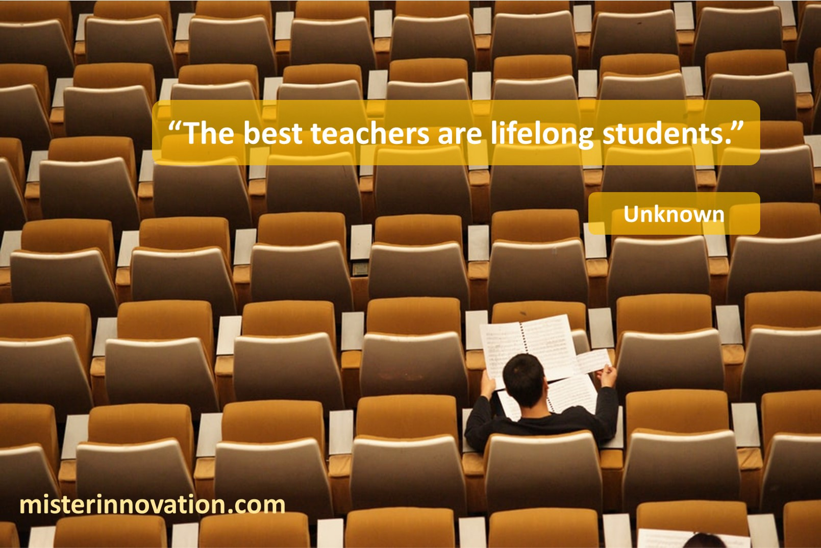 Unknown Lifelong Students