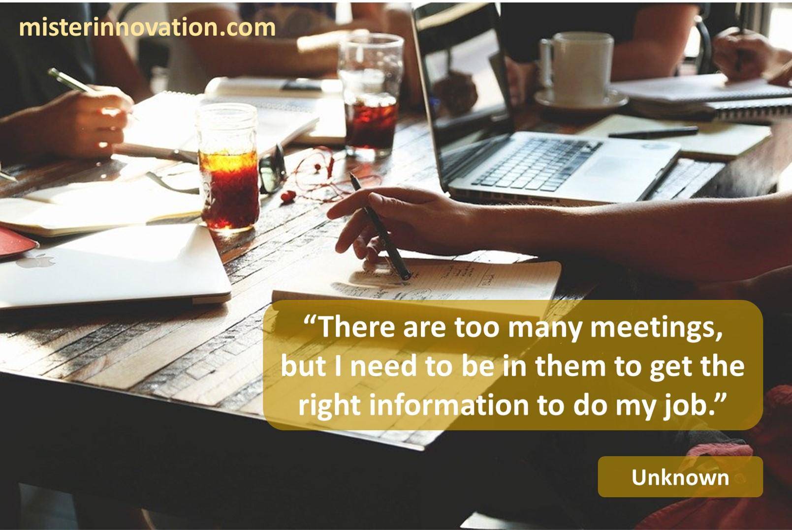 Unknown Meetings
