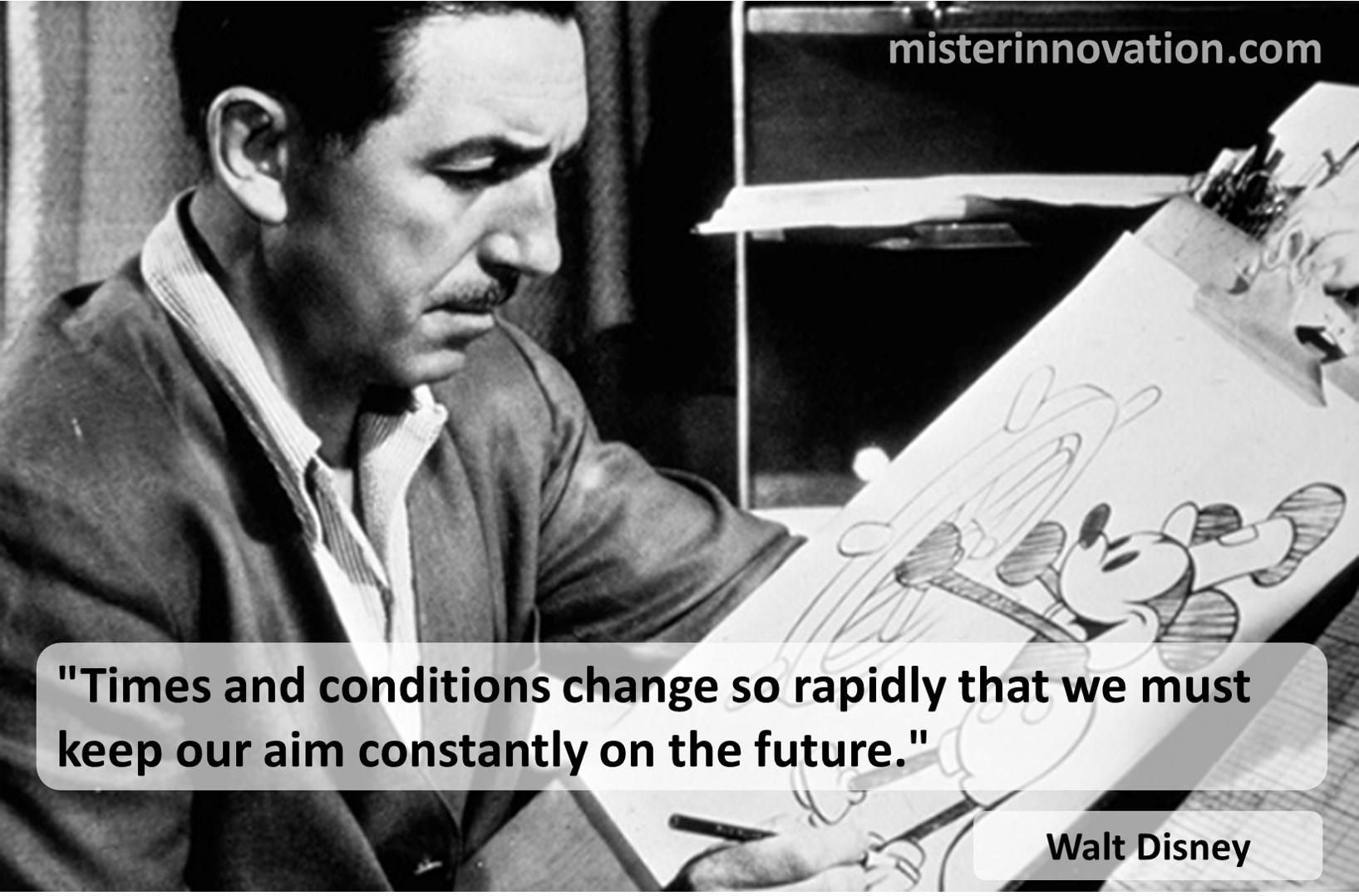 Walt Disney Change Future