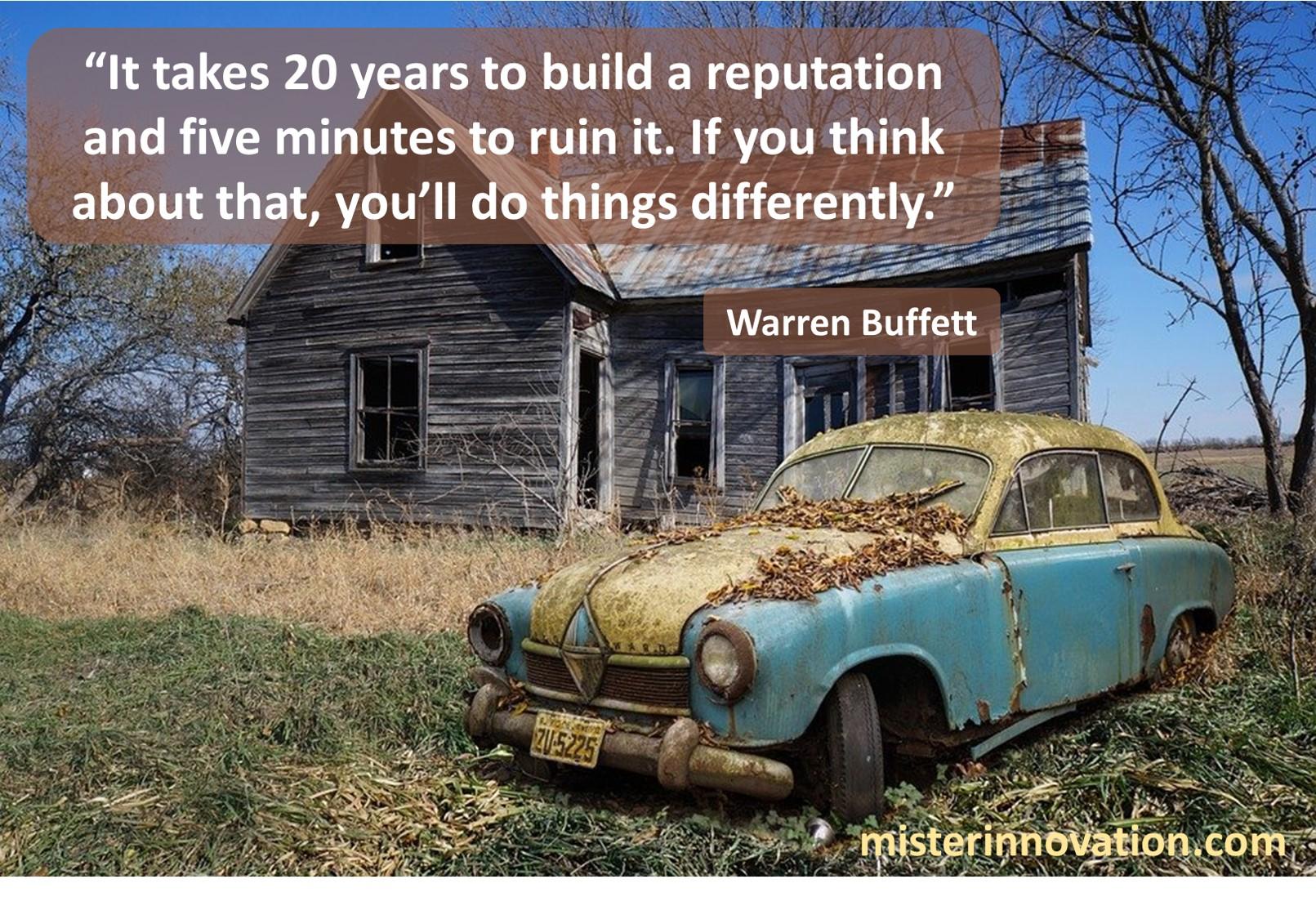 Warren Buffett Reputation