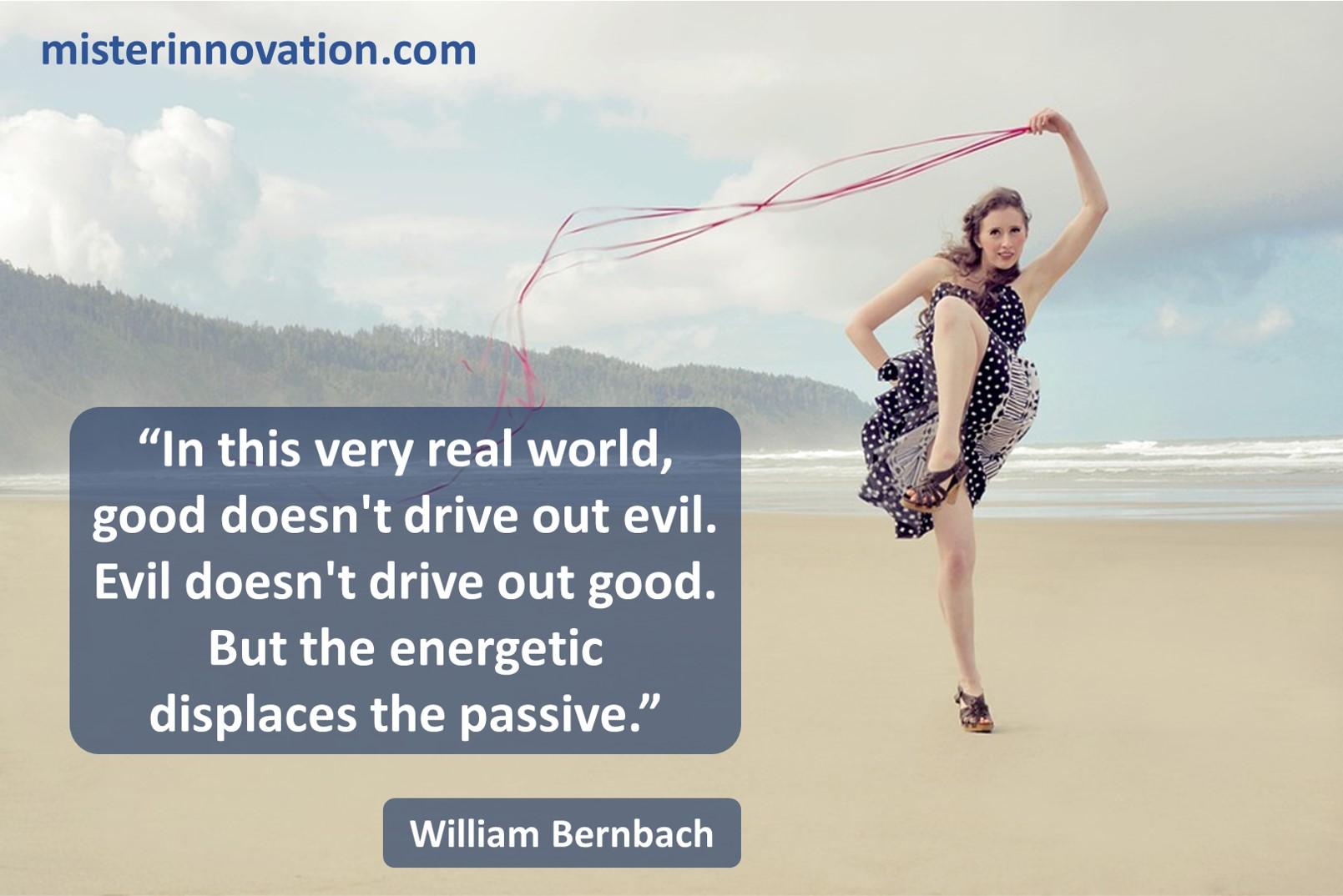 William Bernbach energy passion