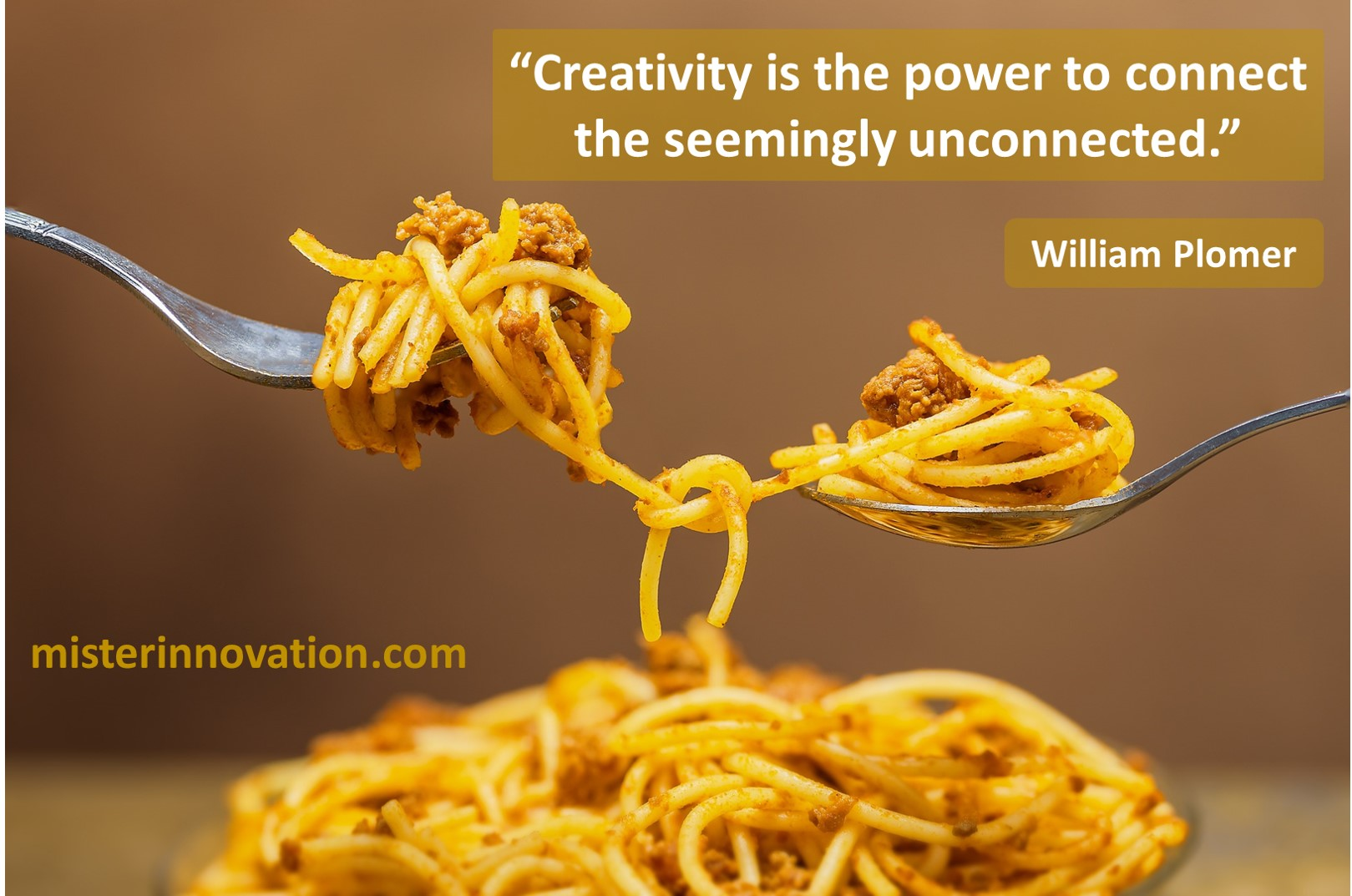 William Plomer Quote on Connections and Creativity