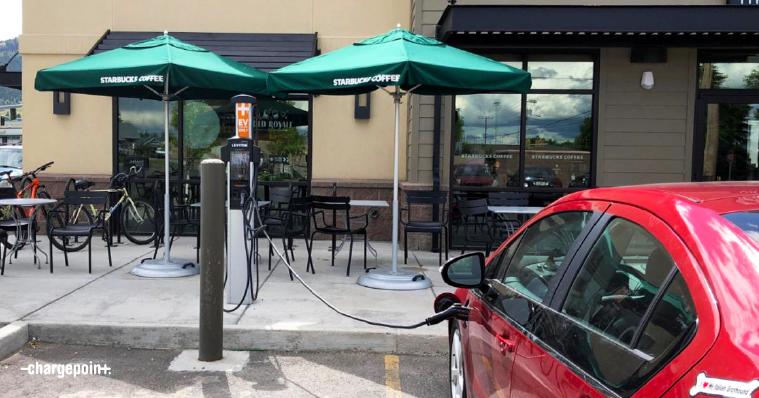 Starbucks Electric Charting Station