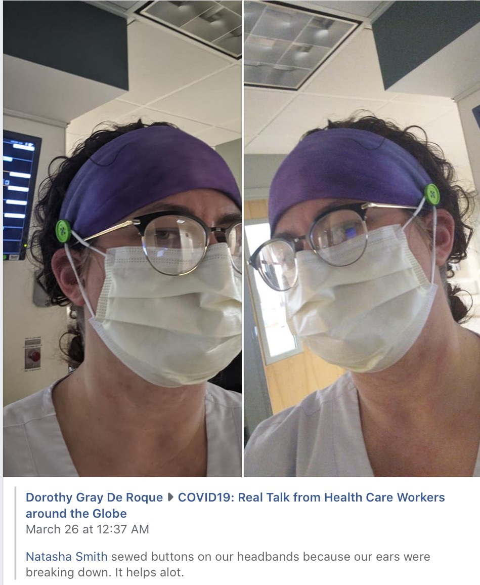 Coronavirus mask and headband solution