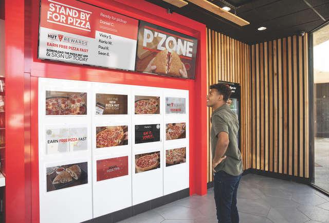 Food Locker Pickup Pizza Hut