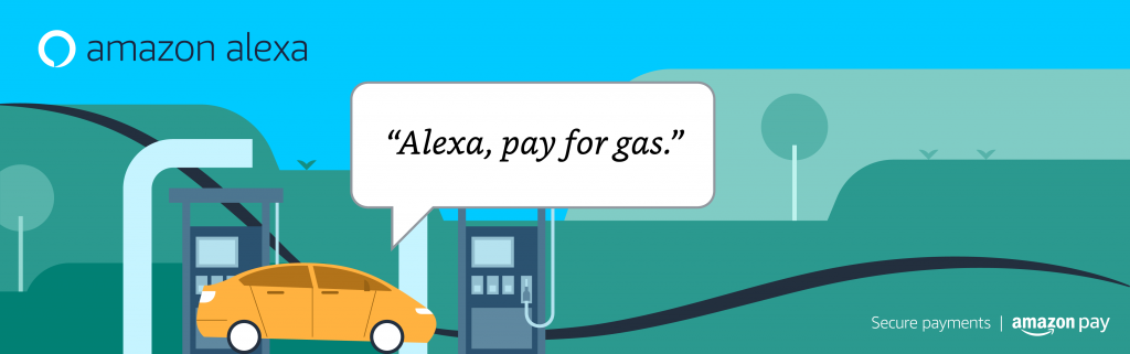Amazon Alexa Pay for Gas