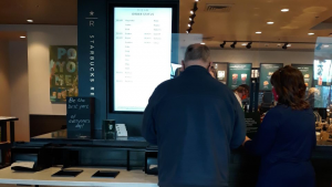 Starbucks Mobile Order Board