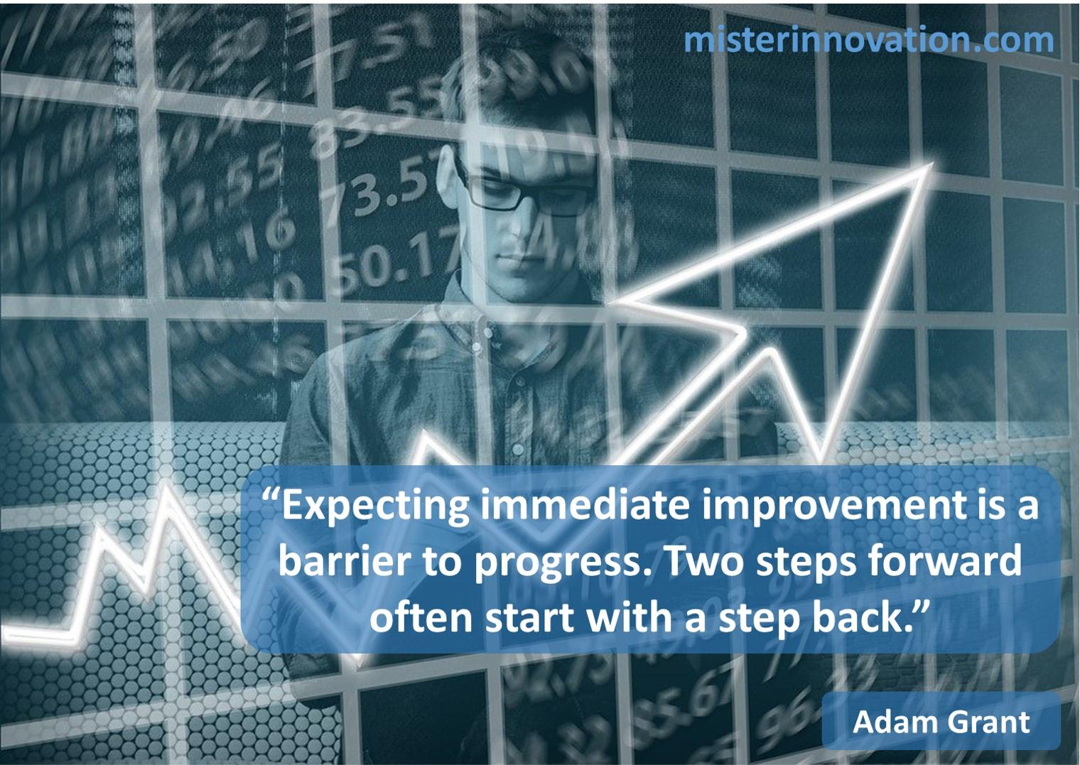 Adam Grant Barrier to Progress