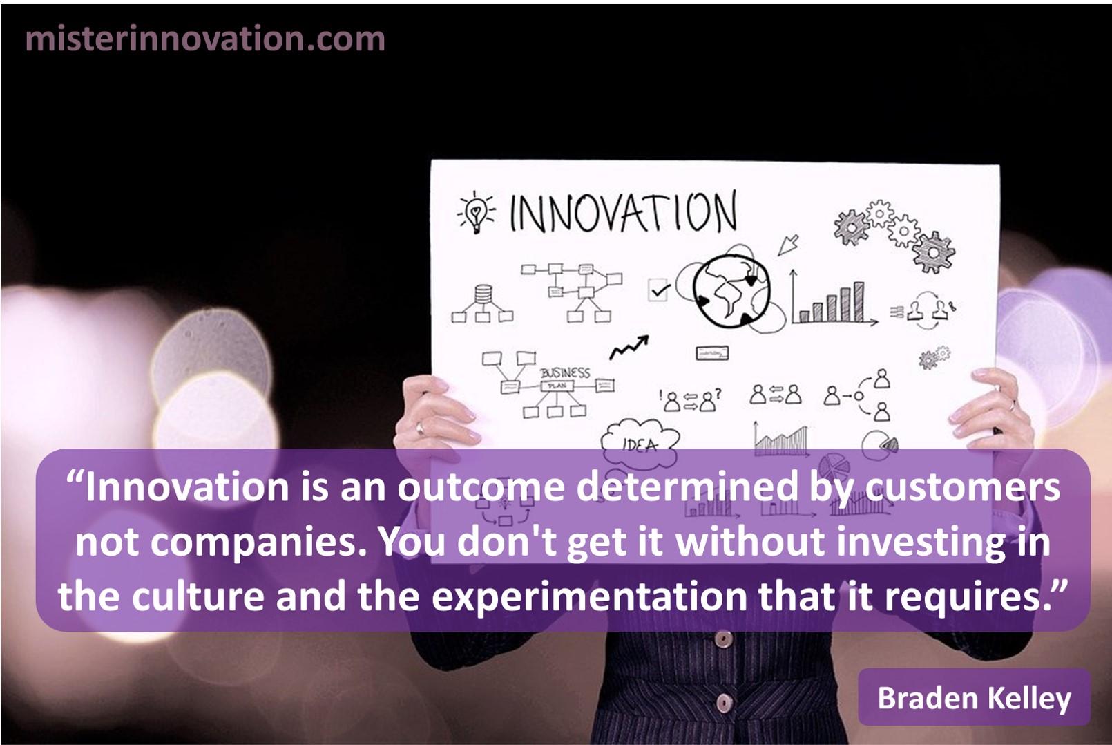 Innovation Customer Outcome
