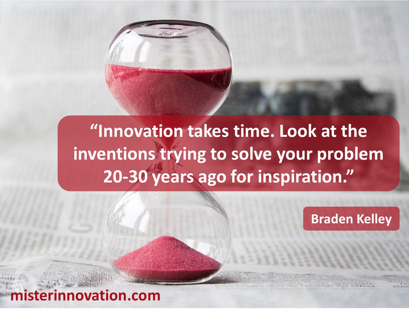 Innovation Takes Time