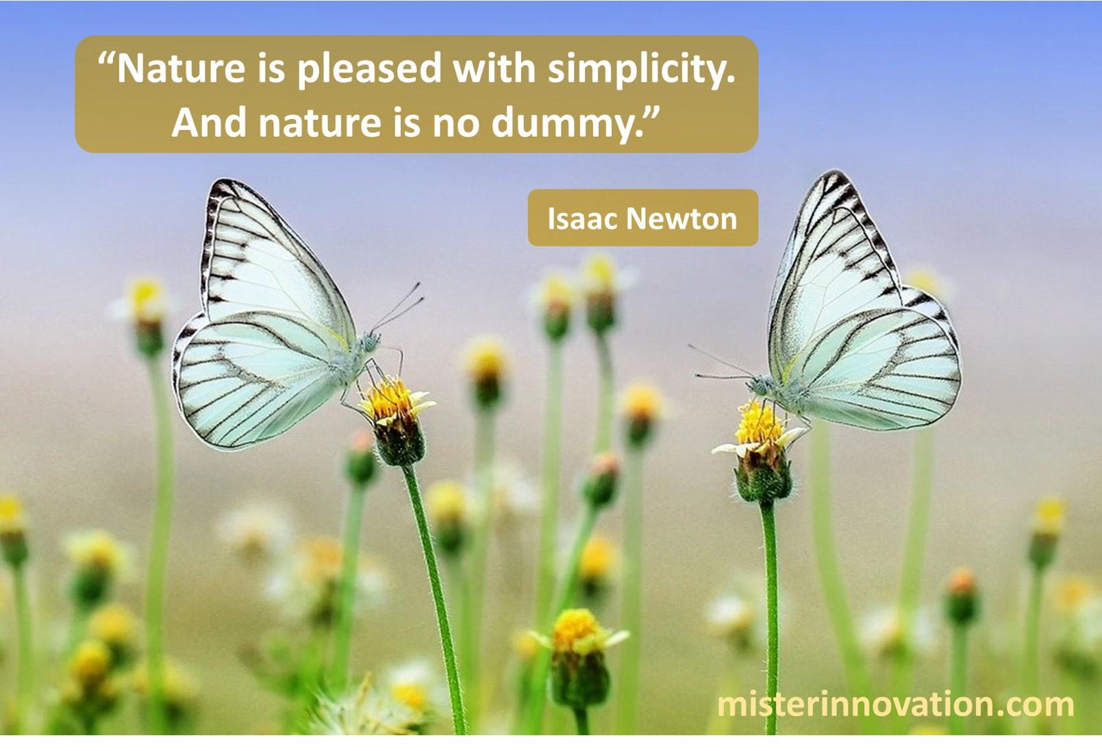 Isaac Newton Nature