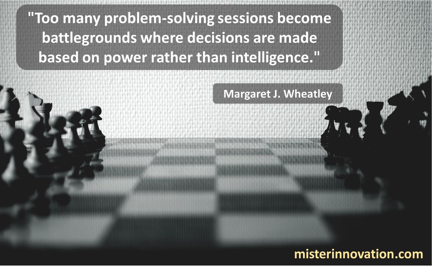 Margaret J Wheatley Problem Solving