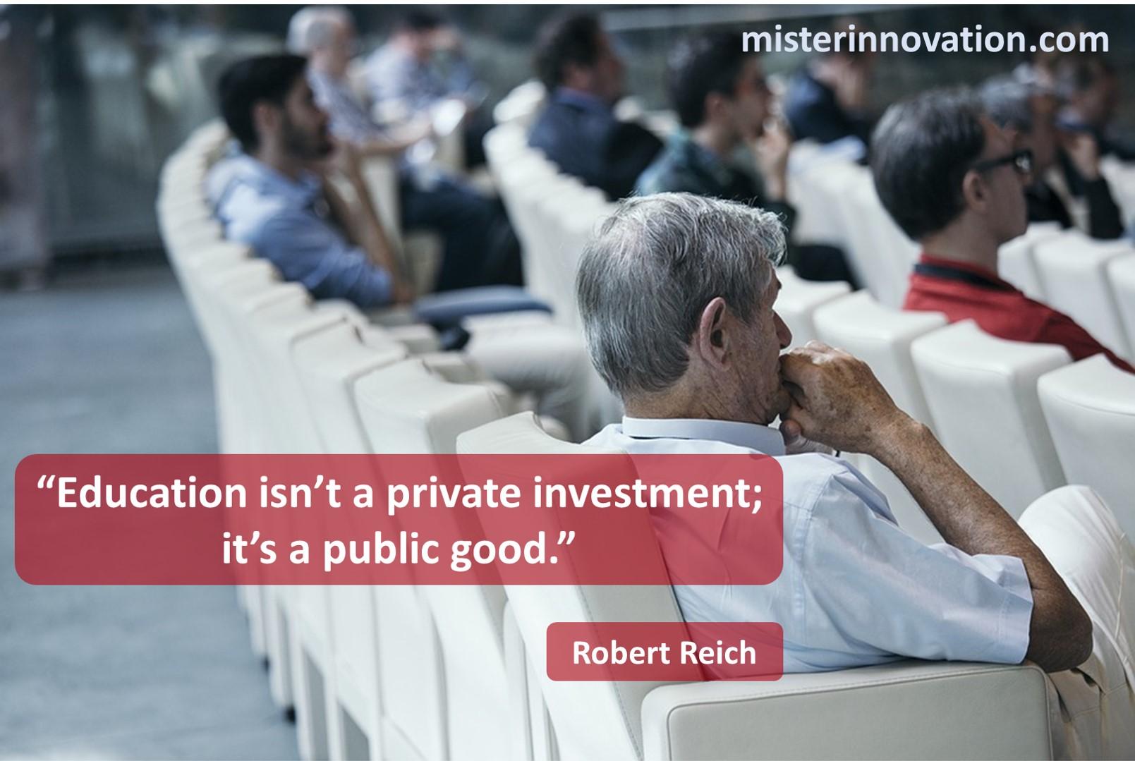 Robert Reich Education