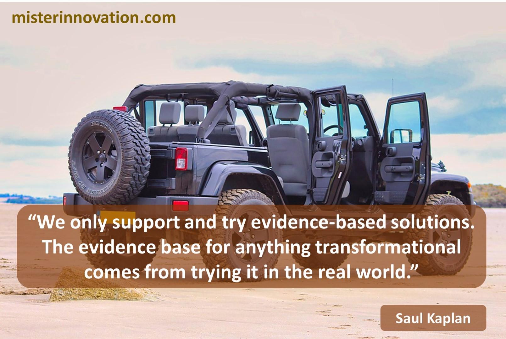 Saul Kaplan Evidence