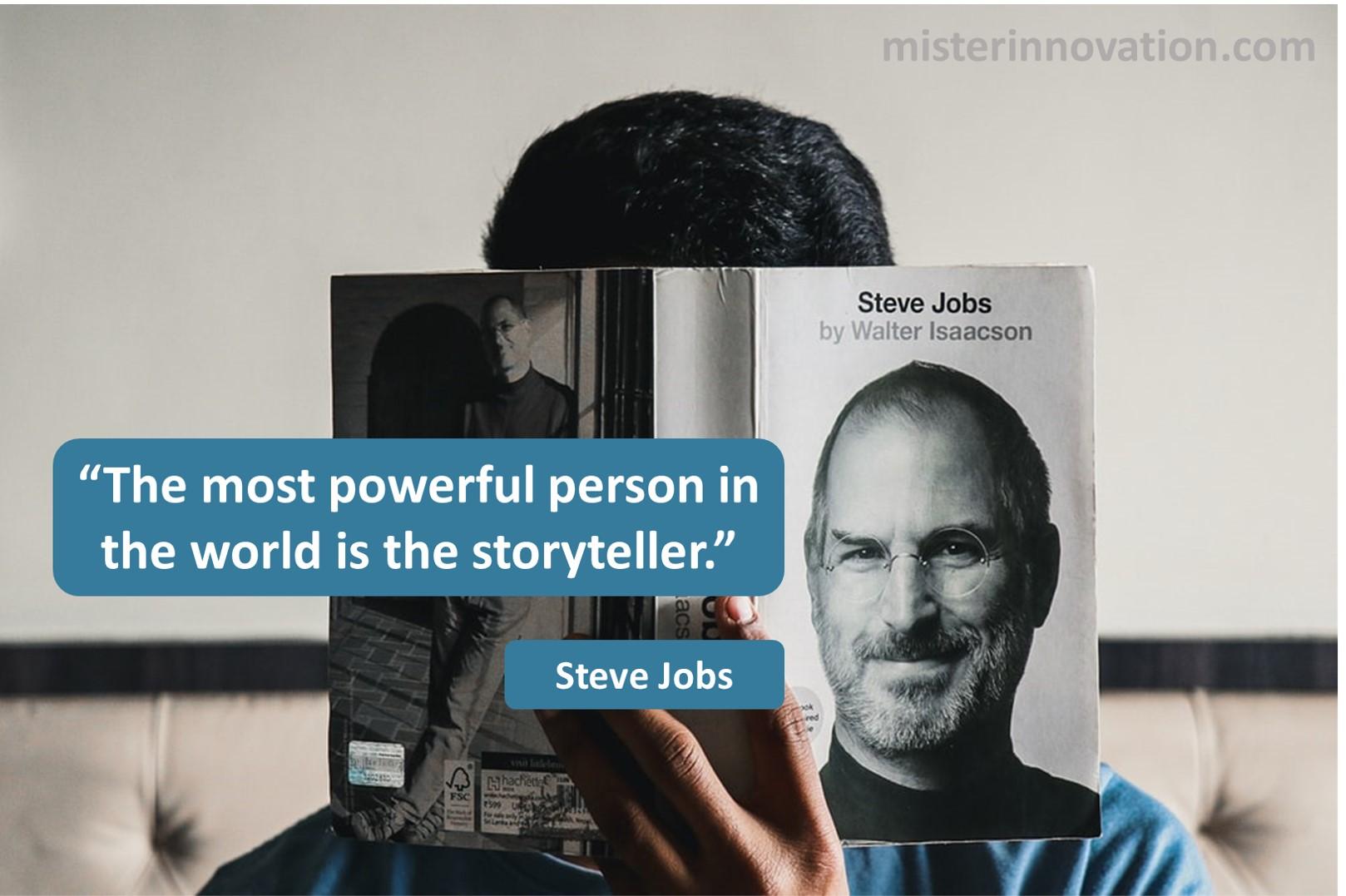 Steve Jobs Storyteller
