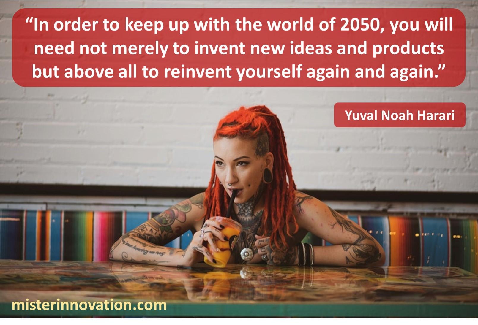 Yuval Noah Harari 2050