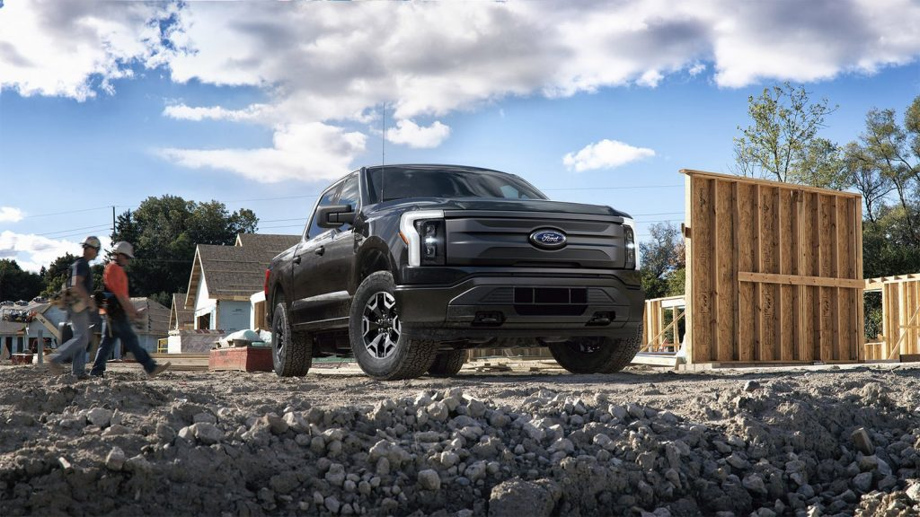 Ford F150 Lightning Electric Truck