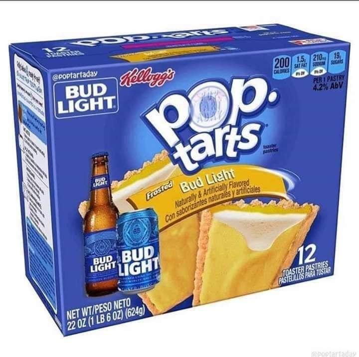 Pop Tart Bud Light